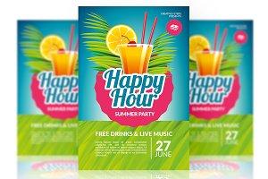 Happy Hour Party - Psd Templates
