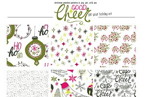 Good Cheer Seamless Patterns