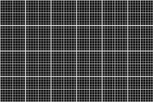 White graph grid on black pattern