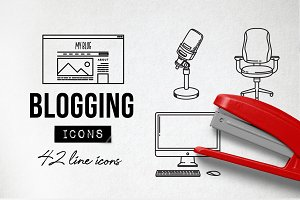 Blog Icons Pack - Social Media