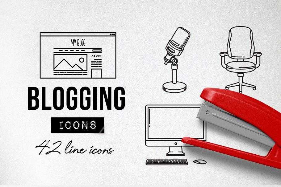 Blog Icons Pack - Social Media