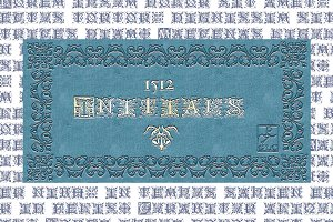 1512 Initials Set TTF