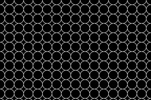 White five millimeters circles grid