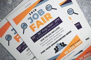 Simple Job Fair Flyer