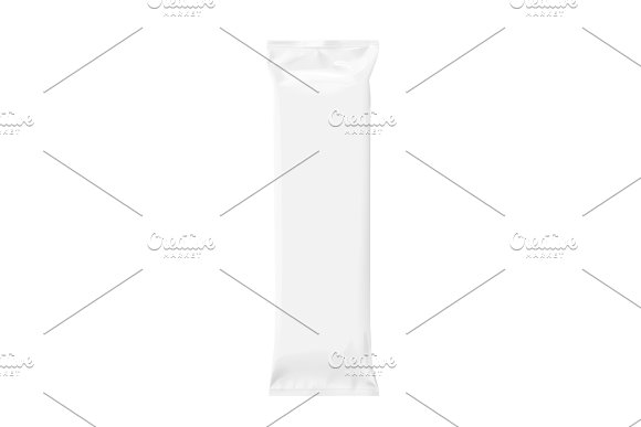 Realistic white template Packaging in Product Mockups