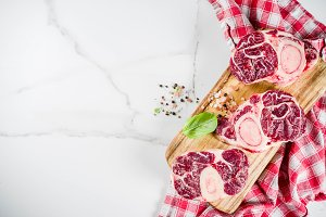 Fresh raw beef meat