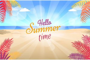 Lovely Summer Promotional Poster