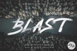 Blast SVG Font