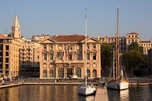 The Marseilles port