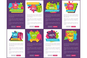 Big Bundle of Promo Web Posters with