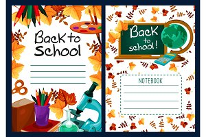 Back to School vector lesson