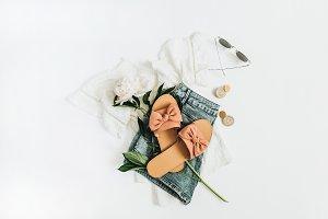 Feminine clothes