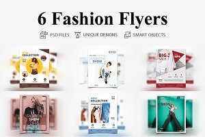6 Fashion Flyers