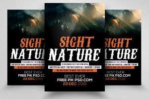 Nature Flyer Templates 04