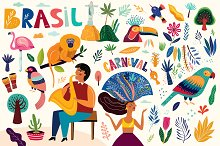 Brazil Collection by  in Illustrations
