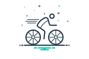 C ycling icon