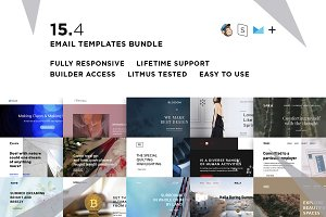15 Email templates bundle IV