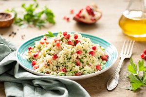 Tabbouleh, Middle Eastern salad