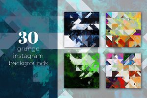 30 grunge backgrounds for Instagram