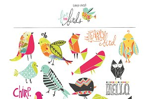 For The Birds Clip Art