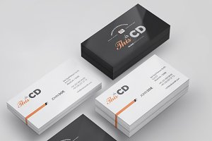 Branding / Identity Card Mock-up 2