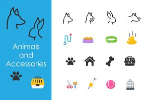 Animals and accessories
