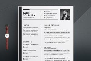 Curriculum Vitae /CV Resume Template