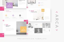 ARCA - Keynote Template by  in Presentations
