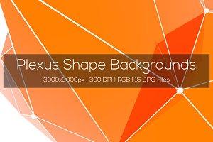 Plexus Shape Backgrounds Vol2