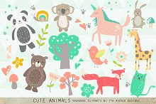 Cute Animals Clipart