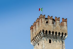 Sirmione Scaliger Castle, Italy