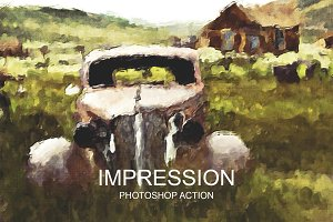 Impression - Photoshop Action