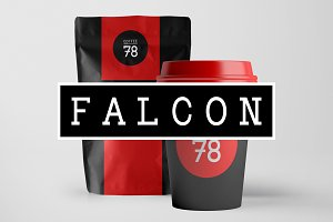 FALCON - Hybrid Slab-Serif Typeface