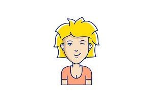 Vector avatar