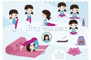 Little Yoga Girls