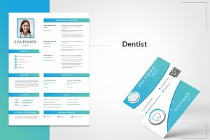 Printable Resume for Dentist
