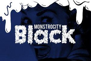 Monstrocity Black - Typeface