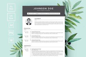 Minimalist Resume/CV