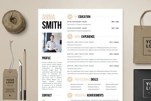 Resume Template 4 page  | Brooklyn