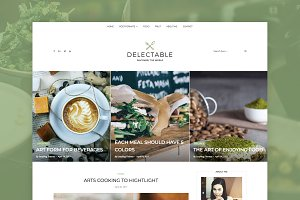 Delectable - Recipe & Food WP Theme