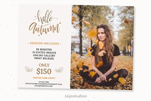 Fall Minimal Flyer Template