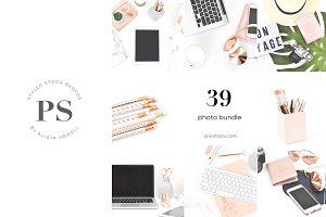 39 Photos - Rose Gold Stock Bundle