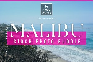 Malibu Beach Photo Bundle