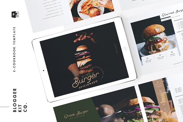 Ebook Template | PowerPoint | v.02