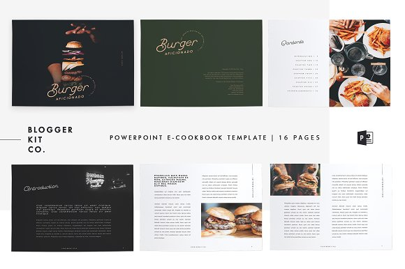 Ebook Template | PowerPoint | v.02 ~ Magazine Templates ~ Creative Daddy