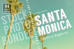Santa Monica Beach Photo Bundle