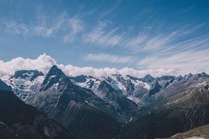 Dramatic Sky & Mountains of Caucasus