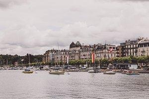 Geneva Lake & City, Switzerland