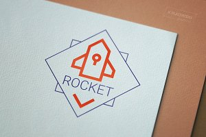 Rocket Startup Logo