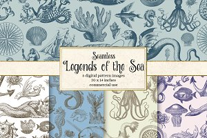 Legends of the Sea Pattern